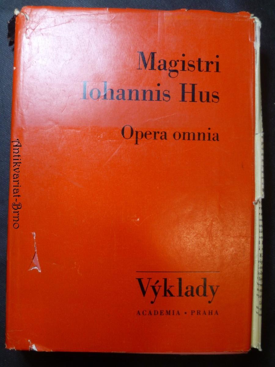 Opera Omnia I. Výklad