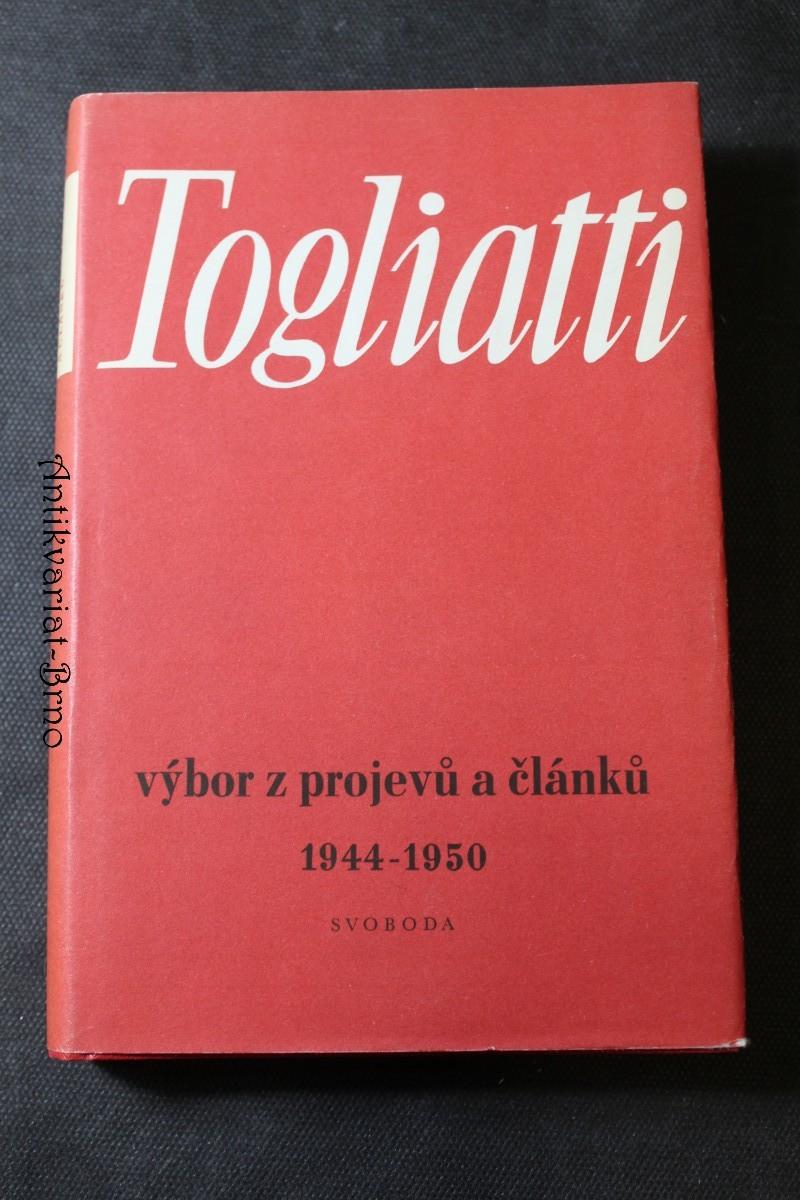 Výbor z projevů a článků 1944-1950