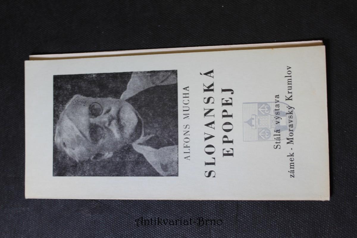 Slovanská epopej : katalog stálé výstavy, zámek-Mor. Krumlov