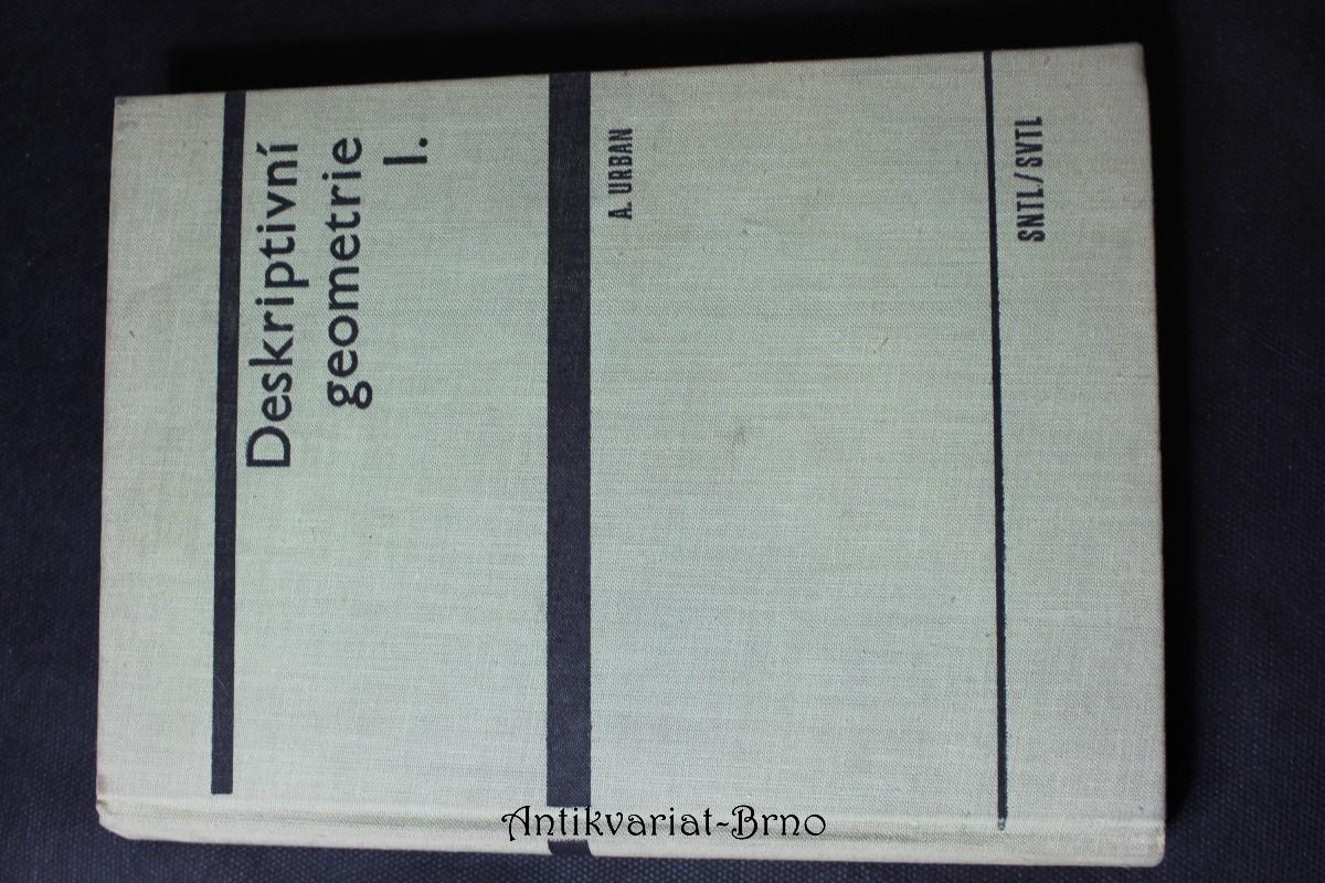 Deskriptivní geometrie I.