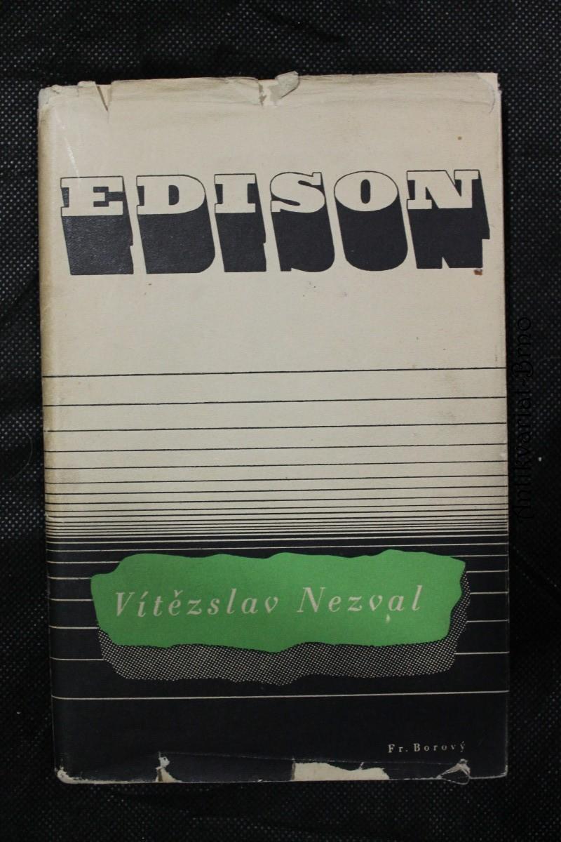 Edison : Báseň o pěti zpěvech s doslovem Signál času