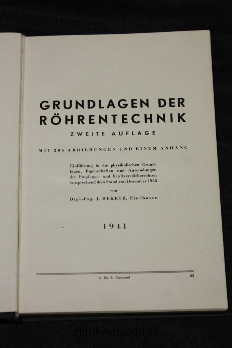 Deketh grundlagen der rohrentechnik 1941 for Grundlagen der tragwerkslehre