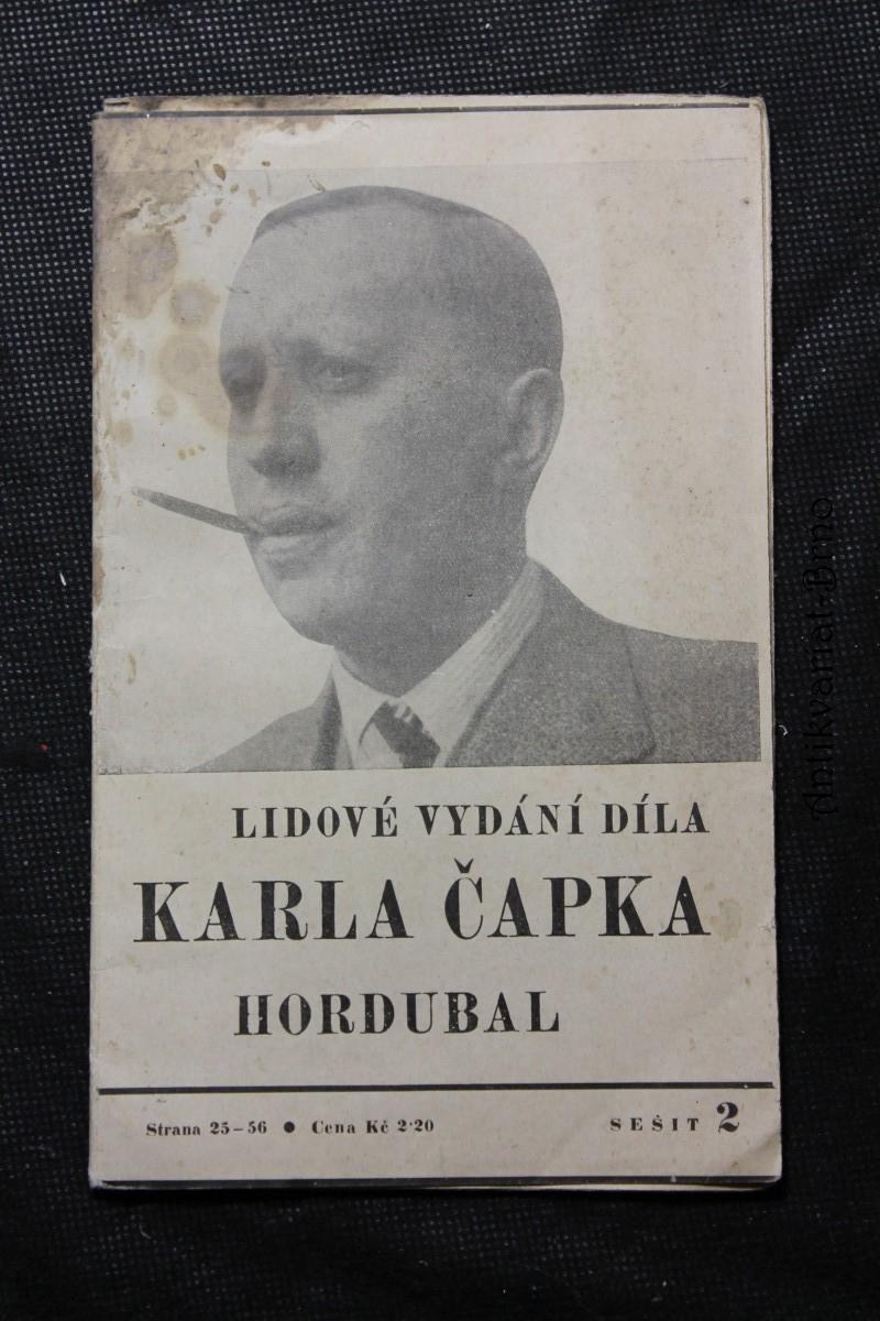 Hordubal. Lidové vydání díla Karla Čapka. Sešit 2.