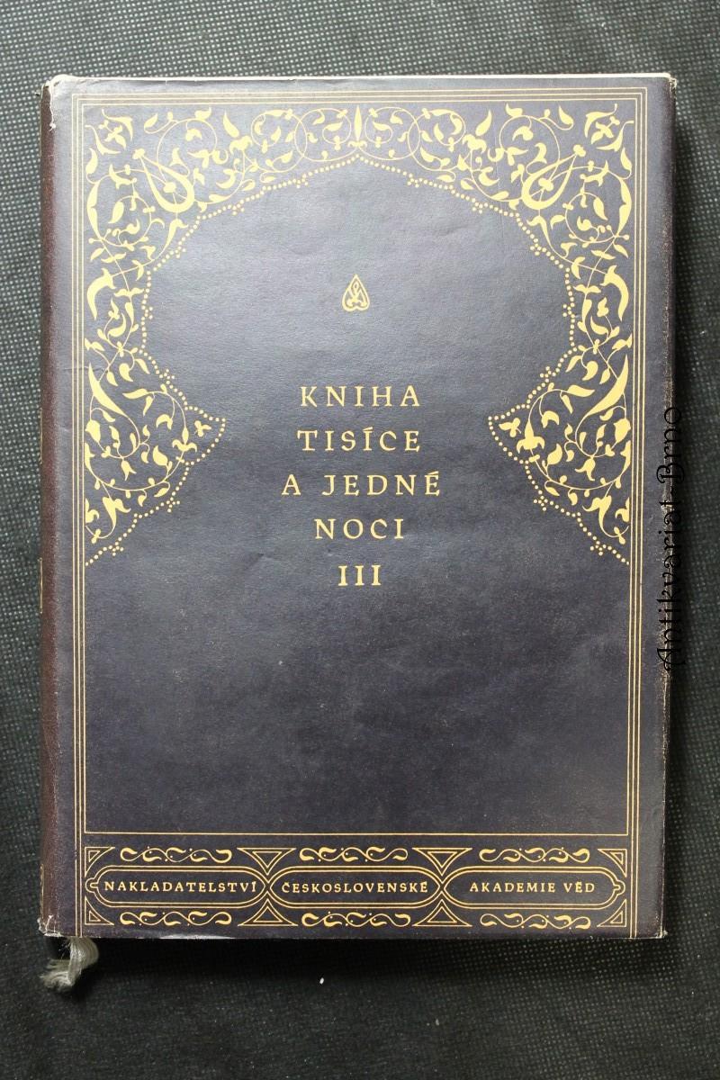 Kniha tisíce a jedné noci. Díl III.