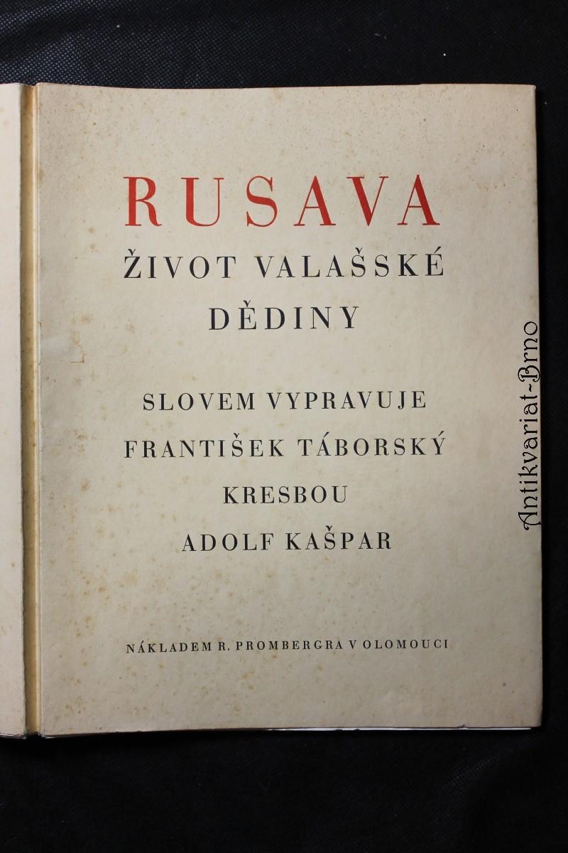 Rusava : život valašské dědiny