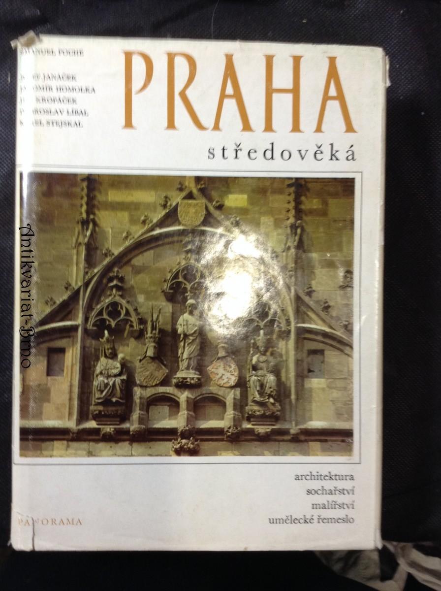 Praha středověká : čtvero knih o Praze : architektura, sochařství, malířství, umělecké řemeslo