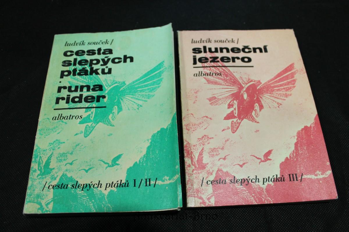 Cesta slepých ptáků; Runa Rider; Sluneční jezero. Díly 1, 2, 3