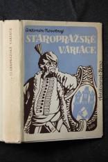 náhled knihy - Staropražské variace na motiv Praha a cizina