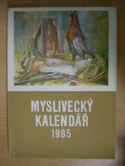 náhled knihy - Myslivecký kalendář 1985