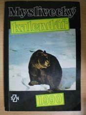 náhled knihy - Myslivecký kalendář 1990