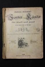 náhled knihy - Familien Kalender fur Stadt und Land 1900