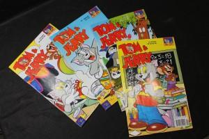 náhled knihy - Tom & Jerry + Kačer Donald + Spiderman