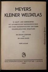 náhled knihy - Meyers Kleiner Weltatlas