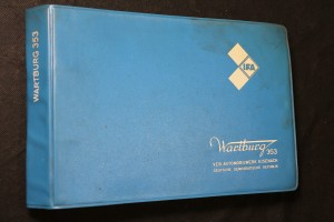 náhled knihy - Wartburg 353 : Ersatzteilkatalog