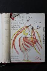 náhled knihy - Český rok v pohádkách, písních, hrách a tancích, říkadlech a hádankách. Jaro