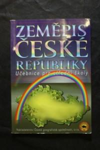 náhled knihy - Zeměpis České republiky : učebnice pro střední školy