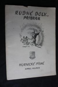 náhled knihy - Hornické písně