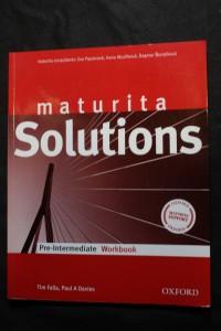 náhled knihy - Solutions: Maturita / Pre-intermediate Workbook