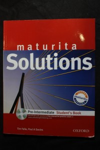 náhled knihy - Solutions: Maturita / Pre-intermediate Student'