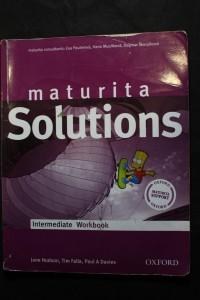 náhled knihy - Solutions: Maturita / Intermediate Workbook