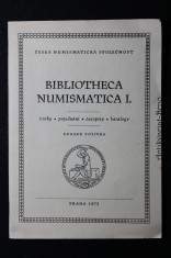 náhled knihy - Bibliotheca Numismatica I.