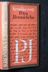 náhled knihy - Kronika cesty Petra Jilemnického : Výbor publicistiky, korespondence a veršů