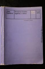 náhled knihy - Srovnávací fonetika angličtiny a češtiny