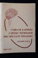 náhled knihy - Vybrané kapitoly z dětské neurologie pro speciální pedagogy