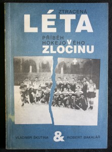 náhled knihy - Ztracená léta : příběh hokejového zločinu