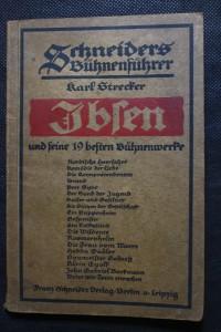 náhled knihy - Schneiders Bühnenführer. Ibsen und seine 19 besten Bühnenwerke.