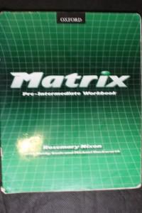 náhled knihy - Matrix / Pre-intermediate workbook