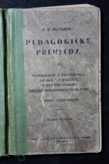 náhled knihy - Pedagogické přehledy. I. díl, Psychologie a pedagogika, logika a didaktika, dějiny pedagogiky, obsahy pedagogických klasiků