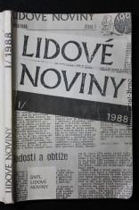 náhled knihy - Lidové noviny 1988