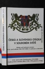 náhled knihy - Česká a slovenská otázka v soudobém světě : základy naší hodnotové orientace v době rozšiřování a reforem EU