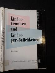 náhled knihy - Kinderneurosen und Kinderpersönlichkeiten