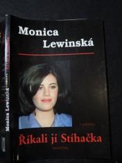 náhled knihy - Monica Lewinská v příběhu Říkali jí Stíhačka Říkali jí Stíhačk