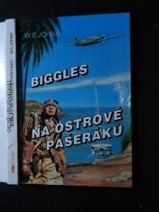 náhled knihy - Biggles na ostrově pašeráků