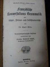náhled knihy - Französische Konversations Grammatik