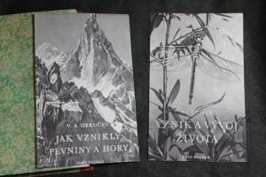 náhled knihy - Jak vznikly pevniny a hory; Vznik a vývoj života.