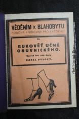 náhled knihy - Rukověť učně obuvnického
