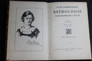 náhled knihy - Astrologie a její upotřebení v životě