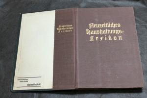 náhled knihy - Neuzeitliches Haushaltungs - Lexikon. Ein Fach- und Nachschlagewerk, wie man sparsam haushalten und wirtschaften kann.