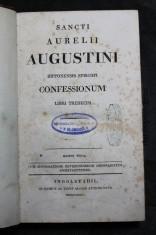 náhled knihy - Sancti Aurelii Augustini Hipponensis episcopi Confessionum libri tredecim