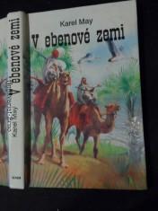 náhled knihy - V ebenové zemi (Román z cyklu V zemi Mahdího - díl třetí)