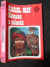 náhled knihy - Komanč a zálesák : podle románu Gabriela Ferryho