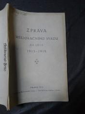 náhled knihy - Zpráva melioračního svazu za léta 1913-1918