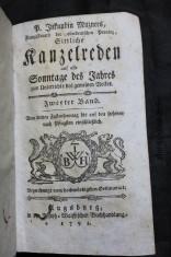 náhled knihy - Sittliche Kanzelreden Auf Alle Sonntage Des Jahres: Zum Unterrichte Des Gemeinen Volkes.
