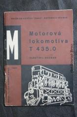 náhled knihy - Motorová lokomotiva T 435.0