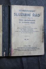 náhled knihy - Komentovaný služební řád (služební pragmatika) pro zaměstnance čs. státních drah