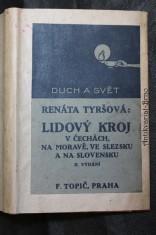 náhled knihy - Lidový kroj v Čechách, na Moravě, ve Slezsku a na Slovensku